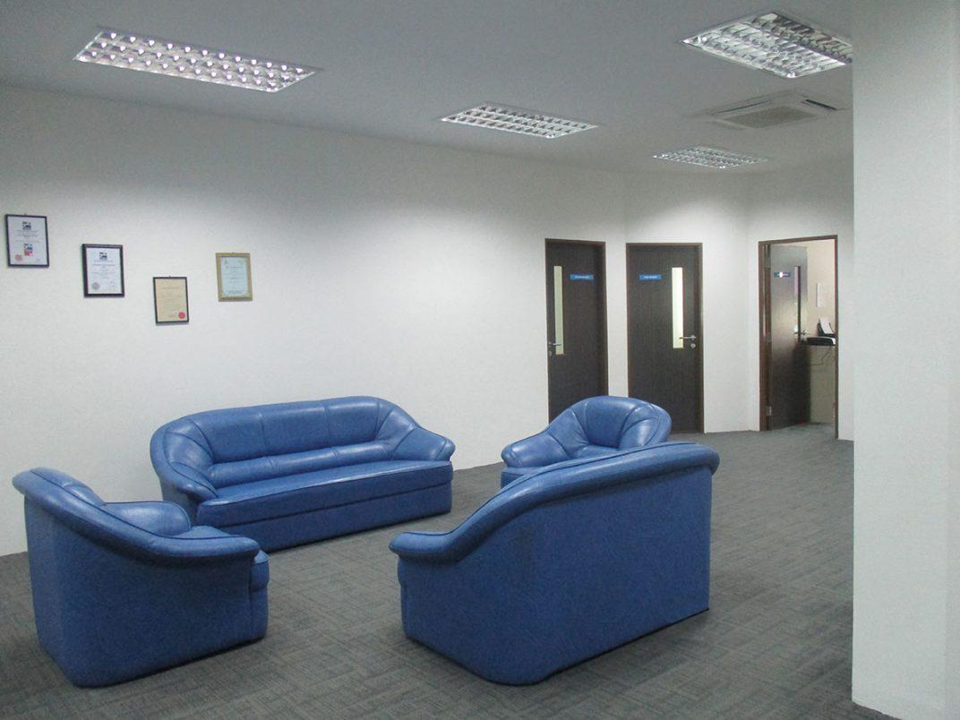 First Floor Receiving Area