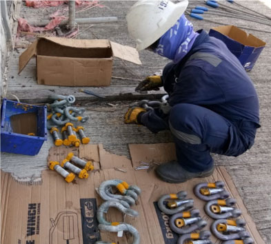 ATDC MAINTAINS QUALITY LIFTING EQUIPMENT – INSPECTION CARRIED OUT